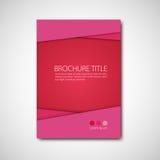 broszurka szablon Obraz Royalty Free