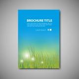 broszurka szablon Zdjęcie Royalty Free