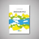 broszurka szablon Zdjęcia Stock