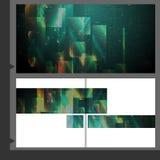 Broszurka szablonu projekt. Obraz Stock