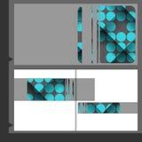 Broszurka szablonu projekt Fotografia Stock