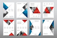 Broszurka układu szablonu ulotki projekta wektor, magazyn broszury pokrywy abstrakta tło Zdjęcie Royalty Free