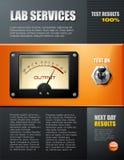 broszurki lab usługa Obraz Stock