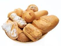 Brot auf dem Teller   Lizenzfreie Stockfotografie