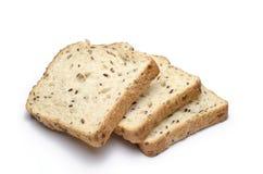 Brot auf Weiß Lizenzfreies Stockbild