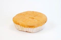 Brot auf weißem Hintergrund lizenzfreies stockfoto