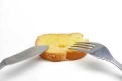 Brot-Butter Stockfotos