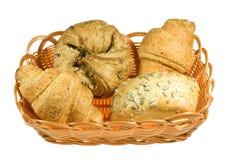 Brot in den Körben Lizenzfreies Stockbild