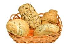Brot in den Körben Stockfotos