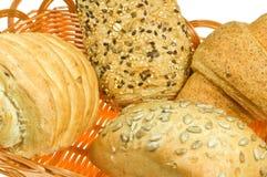 Brot in den Körben Lizenzfreie Stockfotos