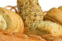 Brot in den Körben Stockfotografie