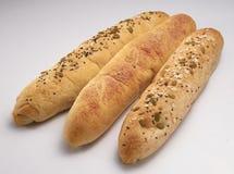 Brot drei Lizenzfreies Stockfoto