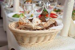 Brot, flaches des Lebensmittels, geschmackvollen und gesunden Lebensmittel des Kuchens, Lebensmittel lizenzfreie stockfotografie