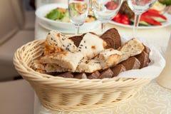 Brot, flaches des Lebensmittels, geschmackvollen und gesunden Lebensmittel des Kuchens, Lebensmittel lizenzfreie stockbilder