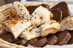 Brot, flaches des Lebensmittels, geschmackvollen und gesunden Lebensmittel des Kuchens, Lebensmittel stockfotos