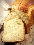 Brot geschnitten. Lizenzfreies Stockbild