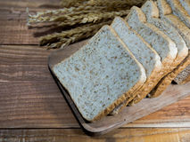 Brot geschnitten Lizenzfreies Stockfoto