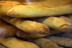 Brot gestapelt Lizenzfreie Stockbilder
