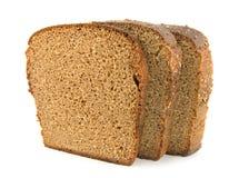 Brot getrennt auf einem Weiß Lizenzfreies Stockbild