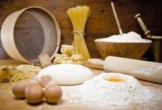 Brot-Kochen Lizenzfreie Stockfotografie