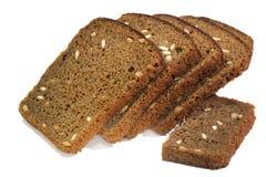 Brot lokalisiert auf weißem Hintergrund Lizenzfreie Stockbilder