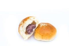 Brot mit der Wasserbrotwurzel gestampft Stockfoto