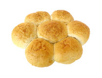 Brot mit indischem Sesam Stockfoto
