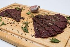 Brot mit Knoblauch Crackerknoblauch Lizenzfreie Stockfotografie