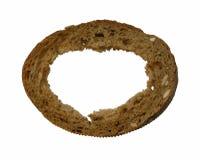 Brot mit Loch Lizenzfreie Stockfotos