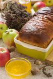 Brot mit Mohnblume Stockfotos