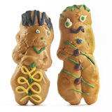 Brot-Puppen Lizenzfreies Stockbild