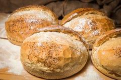 Brot rustikal Lizenzfreies Stockfoto