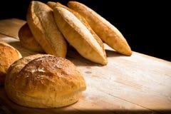 Brot rustikal Lizenzfreie Stockfotos