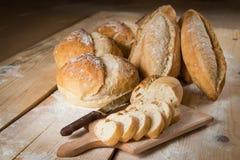 Brot rustikal Stockbild