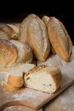 Brot rustikal Stockfoto