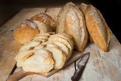 Brot rustikal Stockfotografie