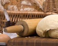 Brot-Teig 004 lizenzfreie stockbilder