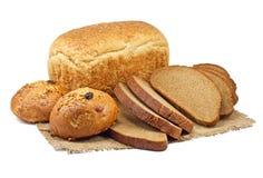Brot- und Bäckereiprodukte Stockfotos