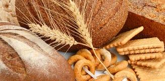 Brot- und Bäckereiprodukte Stockbild