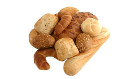 Brot und Bäckereien Stockfotos