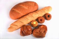 Brot und Brötchen Lizenzfreie Stockbilder