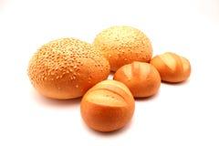 Brot und Brötchen Lizenzfreie Stockfotos