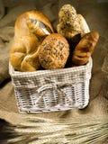 Brot und Brötchen stockbilder