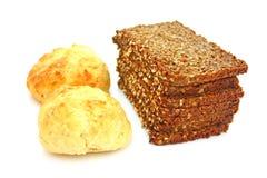 Brot und Brötchen Stockfotografie