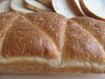 Brot und Brotstücke stockfoto