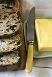 Brot und Butter Stockfotografie