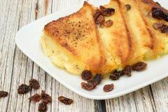 Brot- und Butterpudding Stockbilder
