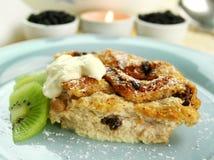 Brot-und Butterpudding Lizenzfreies Stockfoto