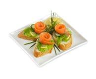 Brot und Fische Stockfoto