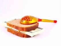 Brot und Geld stockfotos